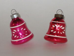 Vintage Christmas Decorations 1950s.Details About Usa Shiny Brite Bells Antique Christmas Ornament Vintage Decorations 1950 S