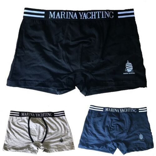 A SCELT 6 BOXER UOMO MARINA YATCHING IN COTONE ART MY38EASS COL ASSORTITI MIS