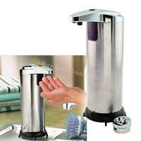 【usa】hands Free Ir Smart Sensor Touchless Soap Liquid Dispenser Kitchen Bathroom