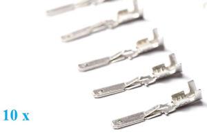 ISO-Kontakte-10-x-maennlich-Junior-Timer-male-Stecker-Buchse-Pins-Set