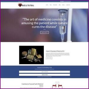 MEDICAL-SUPPLIES-Website-Business-For-Sale-Working-From-Home-Domain-Hostin