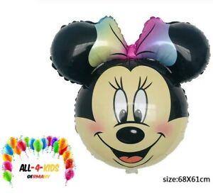 B019 Minnie Maus Kopf XXL Folienballon Geburtstag Helium Ballon