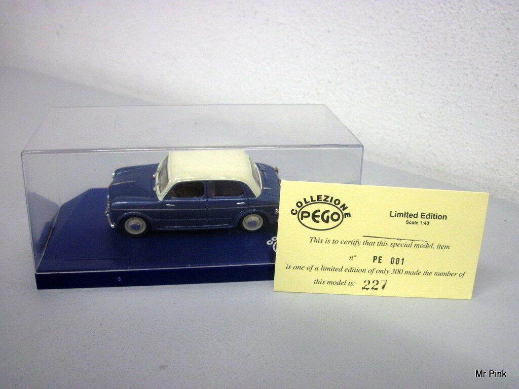 FIAT 1100 103 Progetto K Collezione Pego Limited Edition Pe001 227/300 1/43 Raro