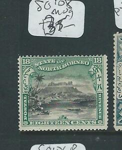 NORTH BORNEO (P2307B) 18C MOUNTAING 108 MOG