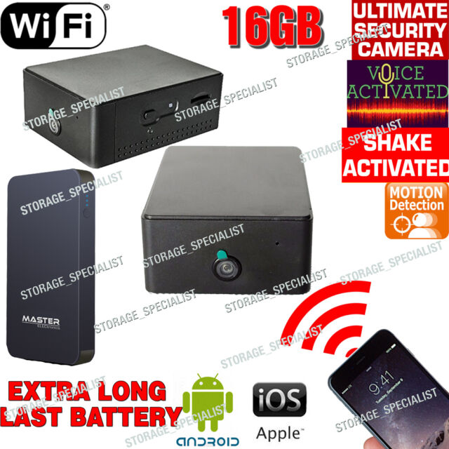 IP Camera Wireless Home Security WIFI Nanny Room Motion Voice Activated no SPY