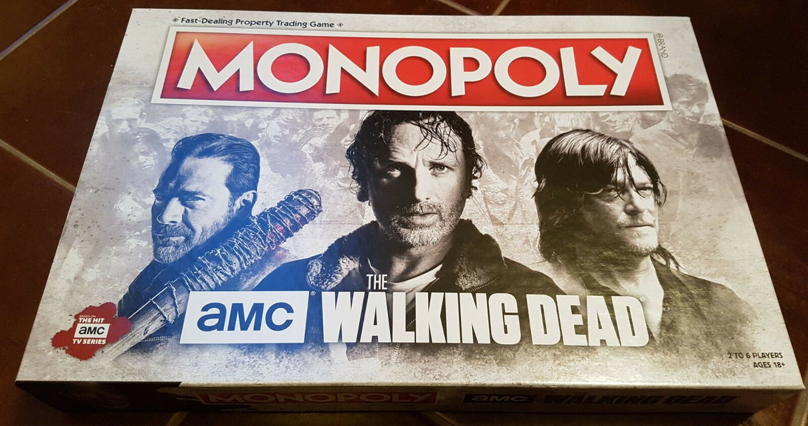The Walking Dead Monopoly TV Version (englische Version)