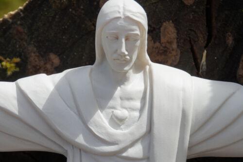 RE0231 PM  FIGURINE STATUETTE REPRODUCTION  CHRIST RIO CORCOVADO STYLE ALBATRE