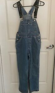 91e9d4f7ec1a Image is loading Vintage-Tommy-Hilfiger-Denim-Overalls-Jeans-Medium-Blue-
