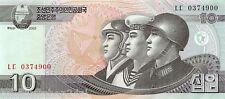 Korea North 10 won 2002 (2009) Unc pn 59
