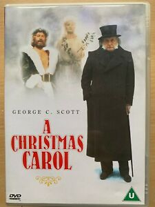 A-Christmas-Carol-DVD-1984-Charles-Dickens-Scrooge-w-classique-George-C-Scott