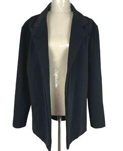 BNNT Boohoo Womens Black Long Sleeve Jacket Size 18