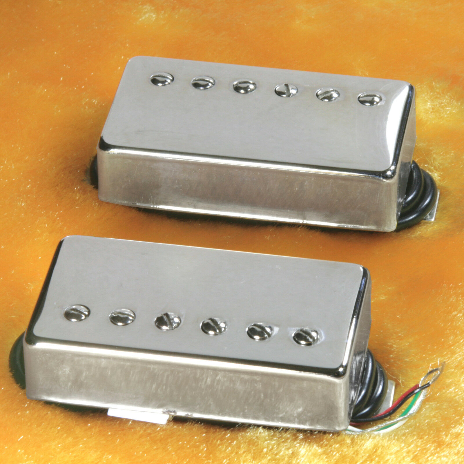 Lindy Fralin Pure P.A.F. Custom 5% OVER  Pickups Pickups Pickups Nickel Covers 4 Cond Leads 59755b