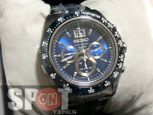 Image is loading Seiko-Lord-Chronograph-100m-Stainless-Steel-Men-039- 9586ece3921