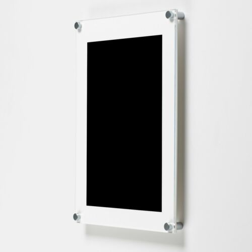 A3 A4 A5 Acrylic Photo Frames Perspex Wall Picture Holder Clear Colour Wooden