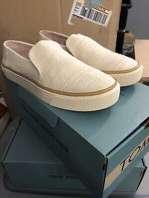 Toms Sunset Natural Slubby Cotton Shoes