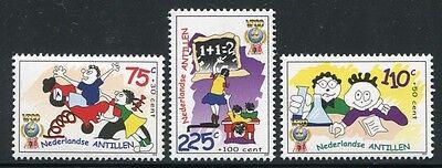 Warnen Niederländische Antillen 2000 Schule Kinder Children 1066-1068 Postfrisch Mnh Hohe QualitäT Und Preiswert Familie & Soziales