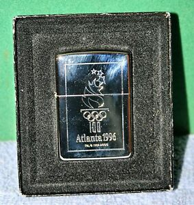 Vintage Zippo Lighter - Atlanta 1996 Olympic Torch Brand New in Box with Label