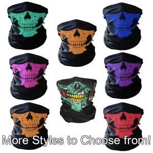 Skull-Biker-Face-Mask-Motorcycle-Ski-Sport-Balaclava-Neck-Warmer-Hood-Unisex