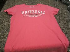 Universal Studios Singapore T-Shirt - Pink - Medium