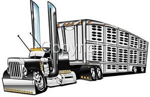 cattle truck coloring pages - photo#8