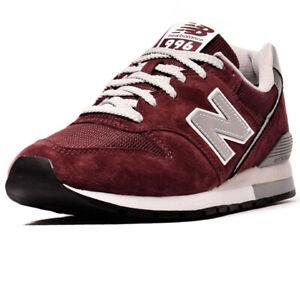 new balance uomo 996 rosse