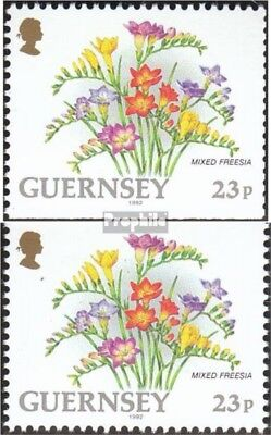 Nature & Plants United Kingdom-guernsey 563do,563du Mint Never Hinged Mnh 1992 Flowers Promoting Health And Curing Diseases Stamps