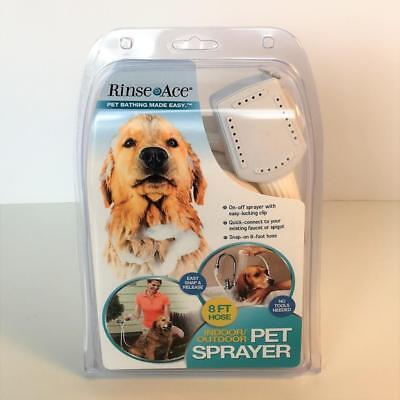 New Indoor Outdoor Faucet Or Spigot Sprayer For Dogs 8 Ft