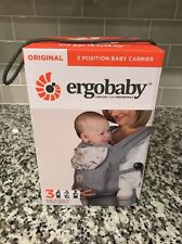 74974c3cfbe Ergobaby Three Position Baby Carrier Original Ergo Grey Starburst - New In  Box