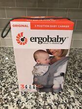 Ergobaby Three Position Baby Carrier Original Ergo Grey/Starburst - New In Box