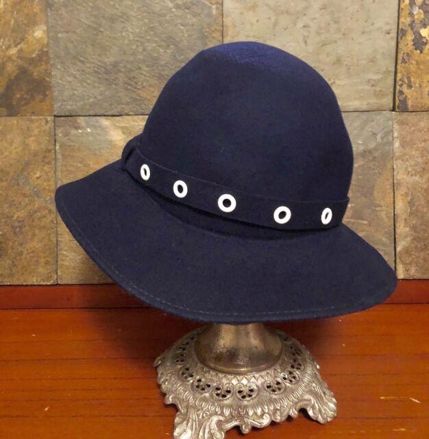 f07ae1565 100% wool Bollman & Co hat, Union Made in USA, doeskin felt W/ Caprise  Label.