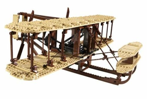 Wright Flyer Aircraft BOOK ONLY NO LEGO Lego 10124 INSTRUCTION BOOK