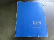 Clark C500 Fy20 Forklift Parts Manual