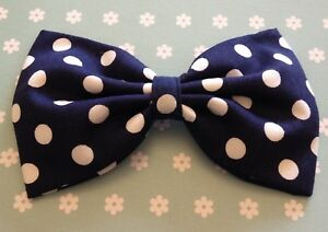 Hand Tied Animal Print Bow for Girls SPOTTY DOT BOW