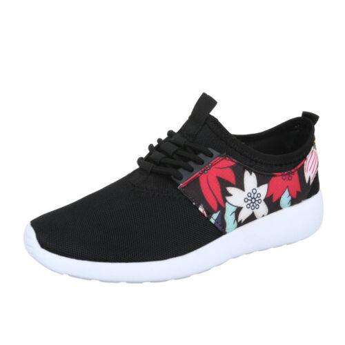 Halbschuhe Sportschuhe Freizeitschuhe Sneakers Low Damenschuhe 7177 Ital-design