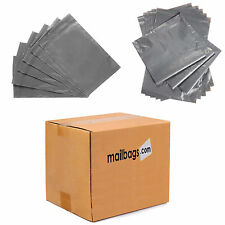 Grey Strong Plastic Post Poly Mail Bags with Self Seal All Sizes from 1.25