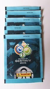 Panini-Germany-2006-old-tuten-bustina-sobre-packet-rare-special-Front-back-code