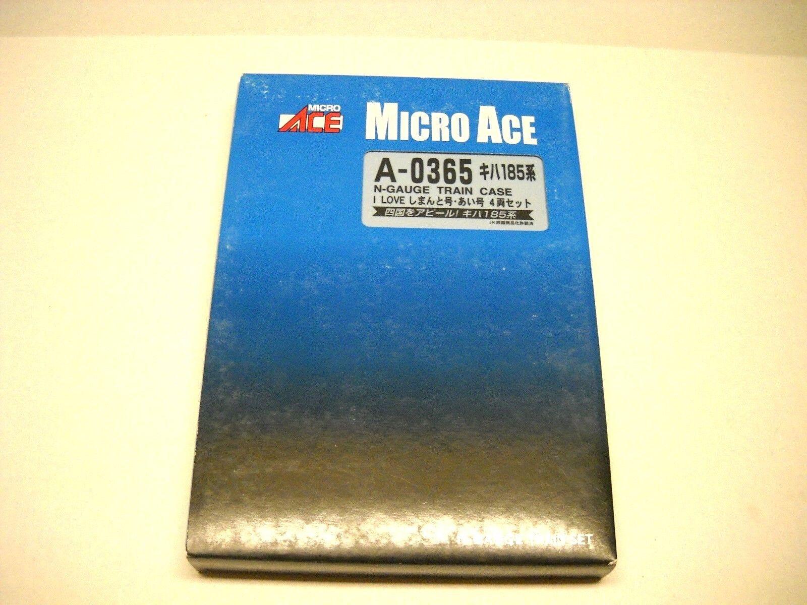 MICRO ACE COMMUTER PASSINGER TRAIN    I LOVE  A-0365