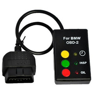 Oil Service Inspection Reset Tool Obd2 Obdii For Bmw E46