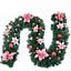 2-7M-Festa-Di-Natale-Pino-Ghirlanda-Decorazione-Albero-Natale-regalo-CORONA-Ornamento-camino miniatura 6