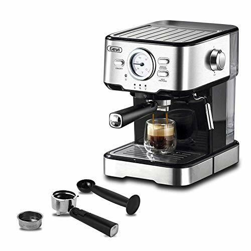 Gevi Espresso Machines 15 Bar with Adjustable Milk Frother Wand Expresso Coffee