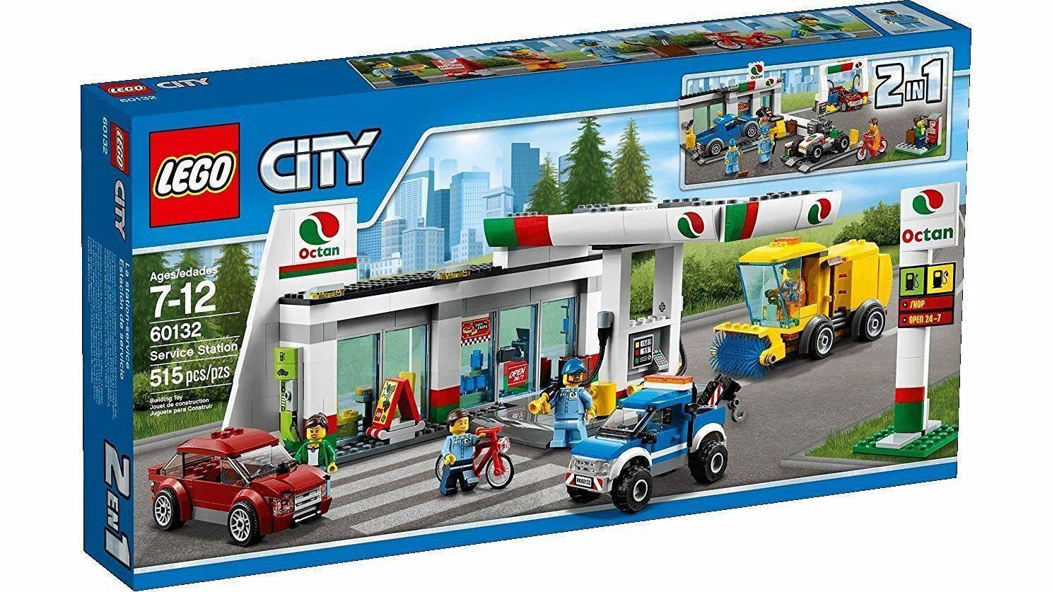 Noël, envoie de la joie Lego 60132 - Estación de servicio - NUEVO | Belle Et Charmante