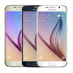 Samsung-Galaxy-S6-32GB-Verizon-Straight-Talk-Unlocked-ATT-GSM-Gold-White