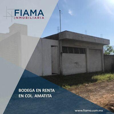 SE RENTA Y SE VENDE BODEGA EN COL AMATITA, TEPIC (EL)