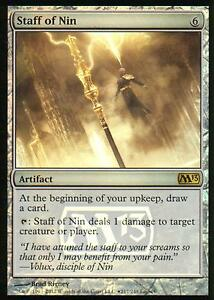 Staff-of-Nin-FOIL-NM-Release-Promos-Magic-MTG