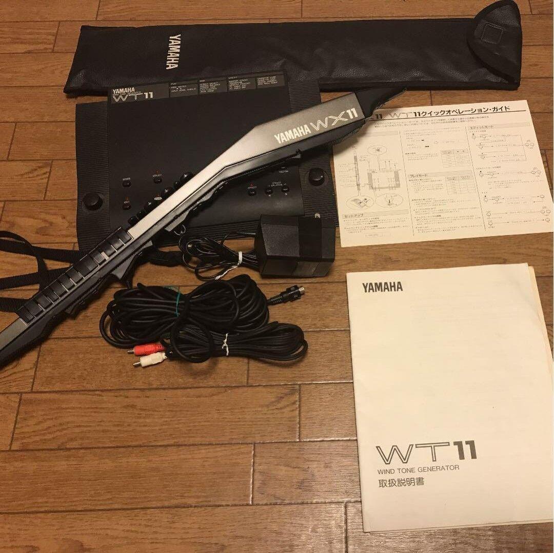 Yamaha WT11 WX11 Midi Wind SyntheGrößer Controller Ton Generator Set F S in Japan