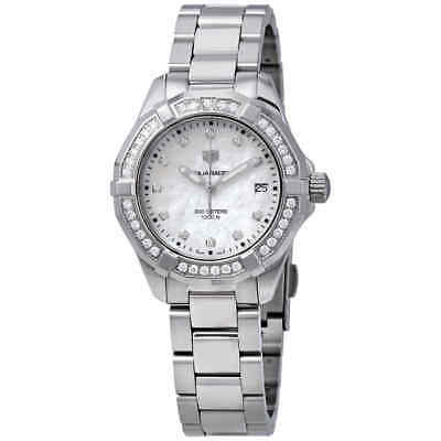 Tag Heuer Aquaracer Mother of Pearl Diamond Dial Ladies Watch WBD131C.BA0748