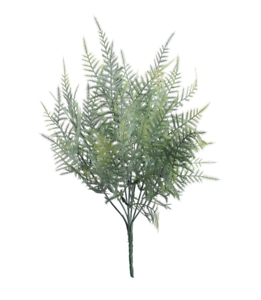 Plástico artificial aspargus FERN Bush-dos tonos verde-Hojas Decorativo