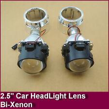"2.5"" Mini Hid Bixenon Projector Lens For H1 Bulb Car With Shround H4 H7"