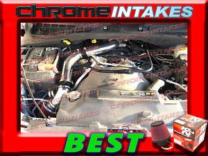 K/&N+BLACK RED 04 05 06 07 08-12 JEEP LIBERTY 3.7 3.7L V6 COLD AIR INTAKE KIT 2