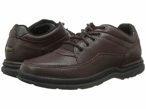 rockport wt classic mens brown k70884 leather lace up